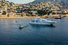 Monte Carlo cityscape, Monaco Royalty Free Stock Image