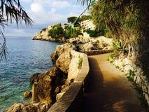 Monte Carlo Coast Royaltyfri Fotografi