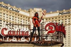 Monte - Carlo em Las Vegas Fotos de Stock Royalty Free
