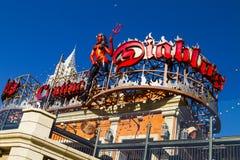 Monte - Carlo em Las Vegas Imagem de Stock