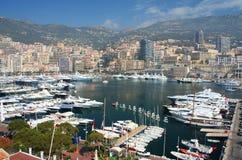Monte Carlo en Mónaco Imagen de archivo libre de regalías