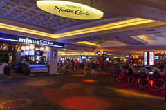Monte Carlo Entrance in Las Vegas, NV on August 06, 2013 Stock Image