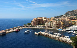 Monte Carlo - Fontvieille Royalty Free Stock Photo