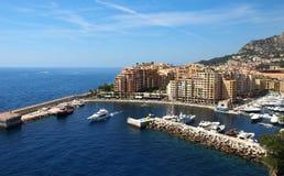 Monte Carlo - Fontvieille Royalty Free Stock Photo