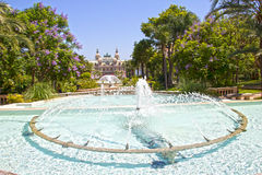 Monte Carlo gardens, Monaco Royalty Free Stock Photo