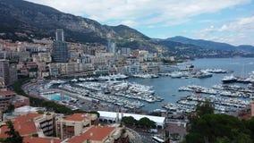 Monte Carlo Habour, Mônaco Foto de Stock Royalty Free