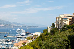Monte Carlo Harbor, Monaco Stock Images