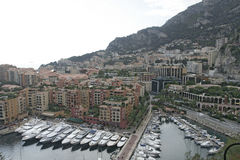 Monte Carlo Harbour Stock Photos