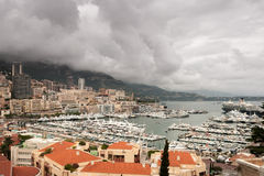 Monte Carlo Harbour stock images