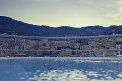 Monte Carlo hot tub stock photo