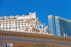 Monte Carlo Hotel and Casino in Las Vegas Stock Photos