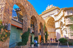 Monte Carlo Hotel and Casino in Las Vegas Royalty Free Stock Photography