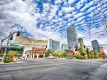 Monte Carlo hotel and casino in Las Vegas stock photography
