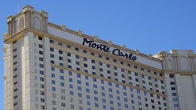 Monte Carlo Hotel and Casino in Las Vegas Royalty Free Stock Photos