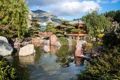 Monte Carlo Japanese Garden Lizenzfreies Stockfoto