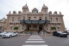 Monte - carlo kasino Royaltyfri Foto