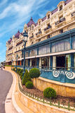Monte Carlo Kasino, Cote d'Azur Lizenzfreie Stockfotos