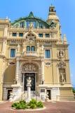 Monte - carlo kasino och opera Royaltyfri Fotografi