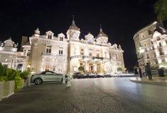 Monte, Carlo kasyno - Zdjęcie Stock