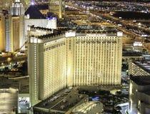 Monte, Carlo kasyno przy nocą, kurort - i Obraz Royalty Free