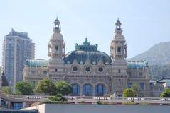 Monte, Carlo kasyno -, punkt zwrotny, budynek, miasto, obszar wielkomiejski Fotografia Royalty Free