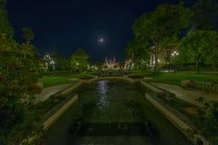 Monte Carlo la nuit Images stock