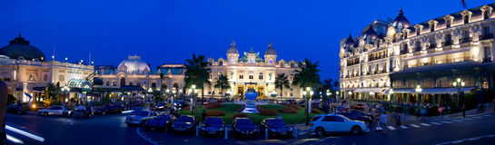 Monte Carlo - le Monaco Images libres de droits