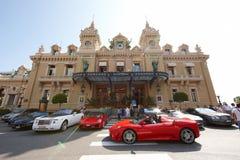 Monte Carlo, Mónaco, casino Monte Carlo, 25 09 2008 Fotografía de archivo