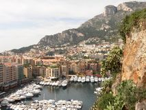 Monte-Carlo marina Royalty Free Stock Photography