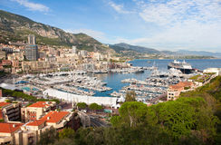 Monte Carlo Marina stock images