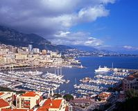 Monte Carlo Marina. Stock Photo