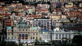 Monte Carlo Mass Crowding des bâtiments photos stock