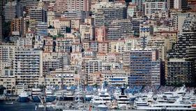 Monte Carlo Mass Crowding des bâtiments photos libres de droits