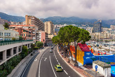 Monte, Carlo miastowy widok - zdjęcia stock