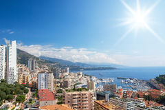 Monte Carlo, Mónaco Fotos de archivo libres de regalías