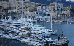 Monte Carlo, Monaco. Monte carlo is one of Monaco's administrative areas, is widely known for its casino Stock Photography