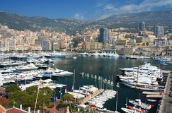 Monte Carlo in Monaco Royalty Free Stock Photography