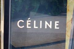 MONTE CARLO, MONACO - AUGUST 20, 2016: Celine fashion luxury store sign in Monte Carlo, Monaco