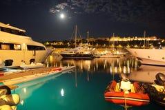 Monte Carlo Monaco-Bucht Stockfoto