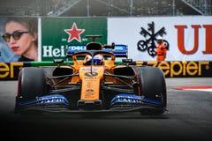 #55 Carlos SAINZ (SPA, McLaren-Renault, MCL34) during FP2 ahead of the 2019 Monaco Grand Prix