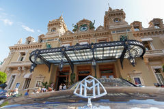 Monte Carlo, Monaco, casinò Monte Carlo, 25 09 2008 Immagine Stock