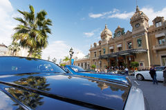 Monte Carlo, Monaco, casinò Monte Carlo, 25 09 2008 Fotografia Stock Libera da Diritti
