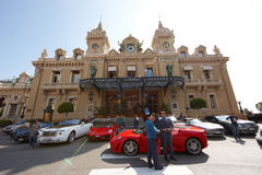 Monte Carlo, Monaco, casino Monte Carlo, 25 09 2008 Photo stock