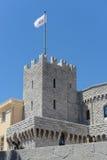 Monte Carlo Monaco Castle Royalty Free Stock Photo