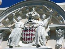 Monte - carlo, Monaco, domkyrka Royaltyfria Bilder