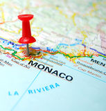 Monte Carlo, Monaco - financieel paradijs Royalty-vrije Stock Foto's