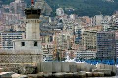 Monte - carlo, Monaco, fyr Royaltyfri Fotografi