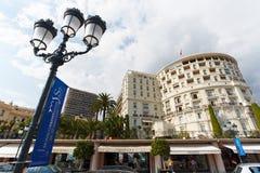 Monte Carlo, Monaco, 25 09 2008: Hotel de Parigi Fotografia Stock