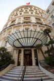Monte - carlo, Monaco, 25 09 2008: Hotell de Paris Royaltyfria Foton