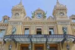 Monte-Carlo, Monaco - June 13, 2014: casino facade. Architect Charles Garnier stock images